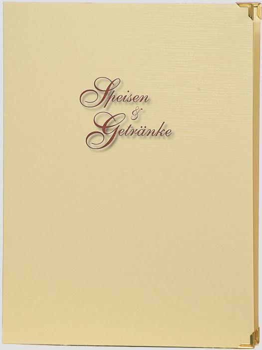 Speisekarte für A4 Einsteckhüllen - AnDaKu Werbedruck